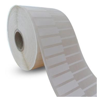 Decal nhựa PVC 50x12mm, 50m (tem vàng, tem nữ trang)