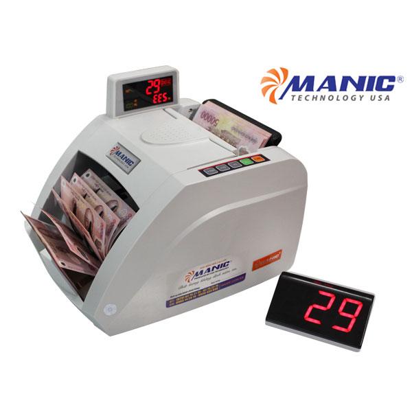 Máy đếm tiền Manic B-9000 Nhật Bản