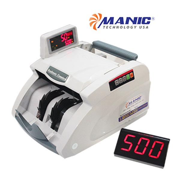 Máy đếm tiền Manic B-9500 Nhật Bản