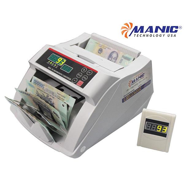 Máy đếm tiền Manic B-1218LED Nhật Bản